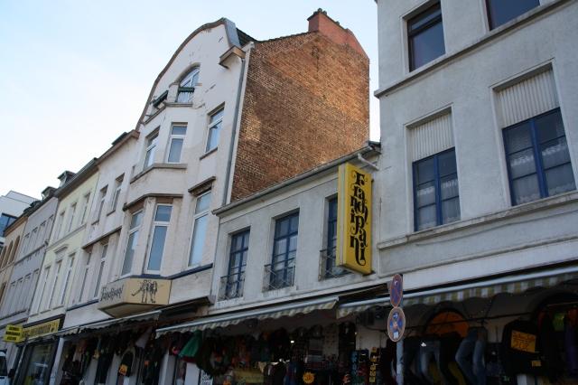 Aachen, Harscampstraße, Baulücke