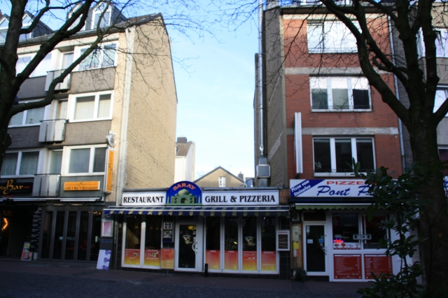 Aachen, Pontstraße, Baulücke