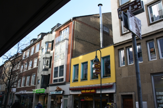 Aachen, Wirisbongardstraße, Baulücke