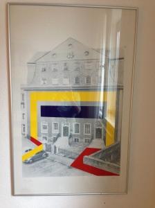 Das Rote Haus interessierte 1969/70 die Künstler Winfred Gaul, Rune Mields, Günter Tollmann undRenate Weh.