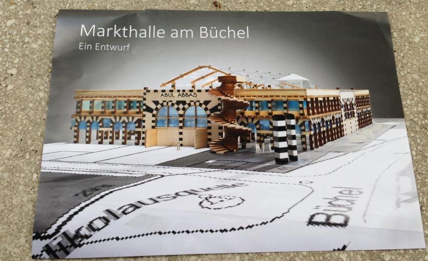 So könnte laut Albert Sous die Markthalle aussehen, die den Platz vom Parkhaus Büchel einnehmen soll.