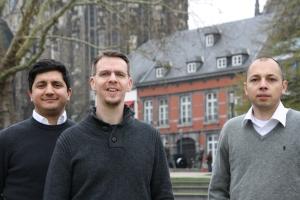 Müssen jetzt zwei Leute einstellen, die ihnen zuarbeiten: 3 Piraten im Stadtrat von Aachen.