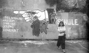"""Das Vorgängerbild. Es wurde Ende der 70er Jahre fotografiert von Erika Schmalen. Es wurde dem Buch """"Was war los in Aachen 1950-2000"""" von Dr. Manfred Vigener, Sutton Verlag entnommen.  Hier abgebildet mit freundlicher Erlaubnis von Erika Schmalen."""