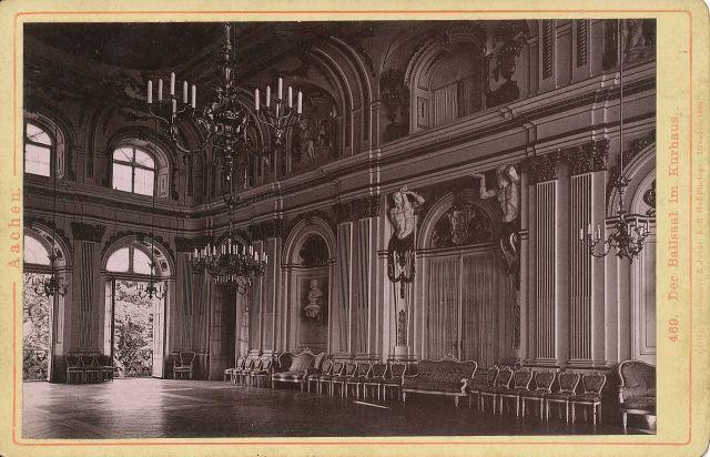 Im Ballsaal des Alten Kurhaus in Aachen (hier ein altes Foto aus der Wikipedia) hat heute der Schriftsteller Michael Köhlmeier den Walter-Hasenclever-Preis der Stadt Aachen erhalten.