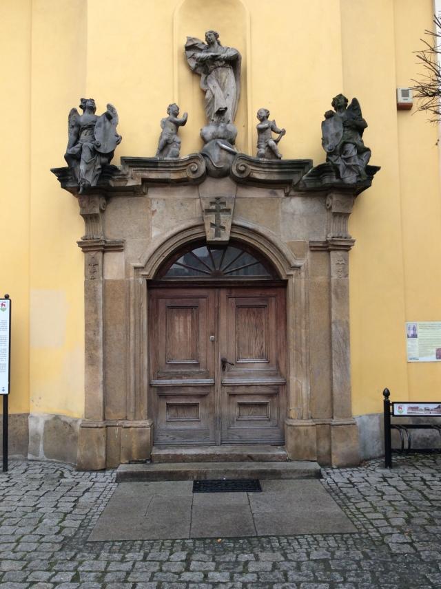 Das Portal einer orthodoxen Kirche, leider geschlossen.