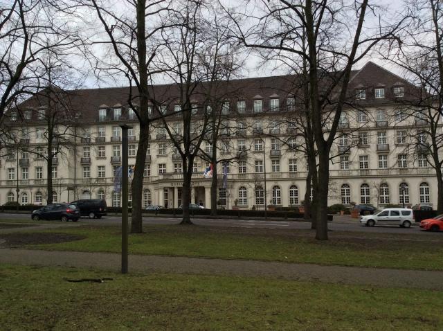 Eine Nobelherberge: der Aachener Quellenhof.