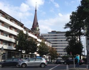 Blick auf das Gebäude der Städteregion in Aachen. Foto: Archiv