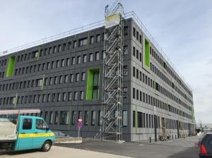Das neue JobCenter an der Krefelder Straße.