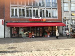 Lebensmittelladen am Markt. Für viele Innenstadtbewohner ohne Alternative.