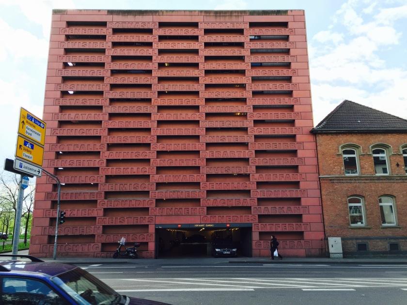 Parkhaus Justizzentrum Aachen