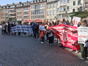 protest fracking aachen