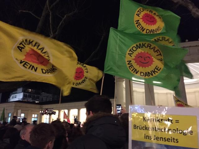Ziemlich plötzlich ist die Anti-AKW-Bewegung zu neuem leben erwacht, jedenfalls in Aachen und dem Umland.