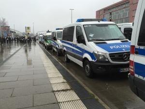 Polizei pediga Aachen
