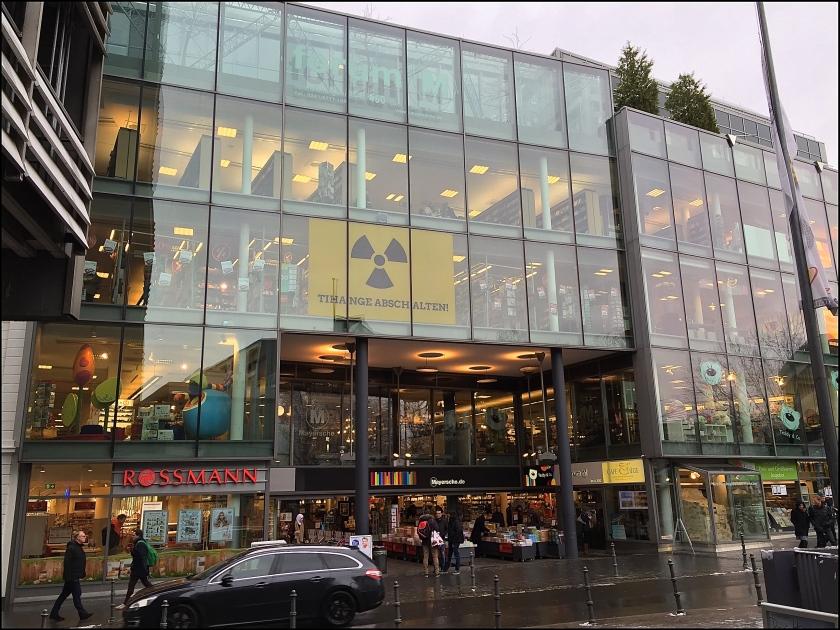 Die Geschäftswelt in Aachen positioniert sich. Allen voran die Märsche Buchhandlung.
