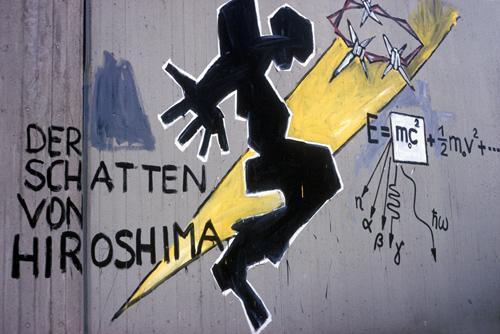 Ein Bild vom Aachener Wandmaler Klaus Paier, fotografiert von Regina Weinkauf.