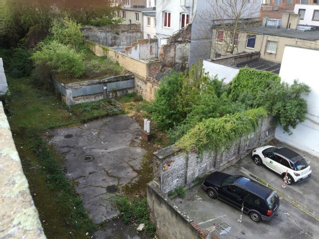 Blick vom Büchel-Parkhaus auf die Umgebung. Sieht alles aus wie Sau, man hat sich aber dran gewöhnt und nimmt es hin.