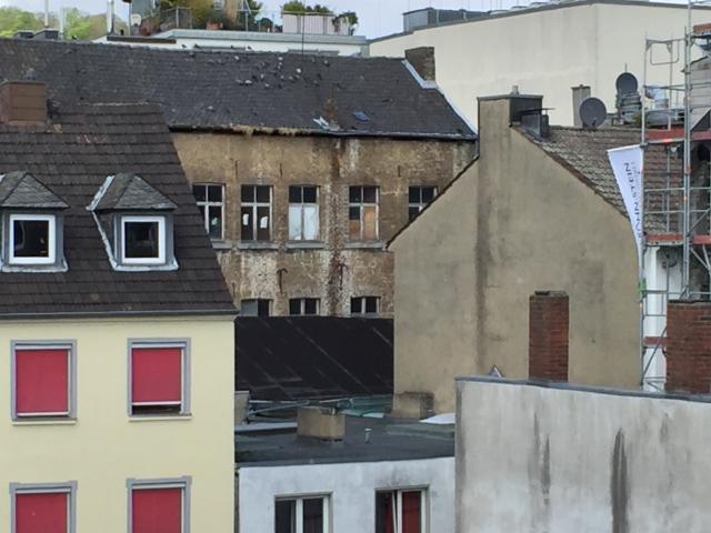 Ein weitere Schuss auf das Gelände in Aachen, das Büchel heißt und dringend einer Neugestaltung bedarf. Fotos: Archiv