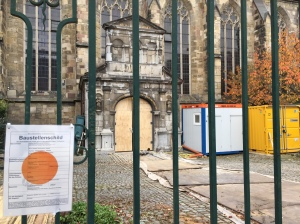 Nach der Profilierung 2009 wird die Pfarrkirche St. Paul in der unteren Jakobstraße jetzt in ein Archiv umgebaut.