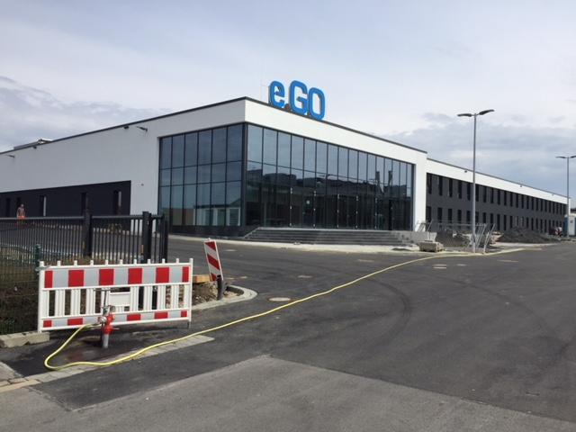 """In der Mache: Der eGO und seine """"Industrie 4.0-Vorzeigefabrik"""""""