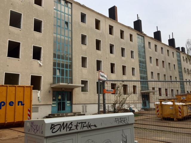 Abriss im Aachener Ostviertel