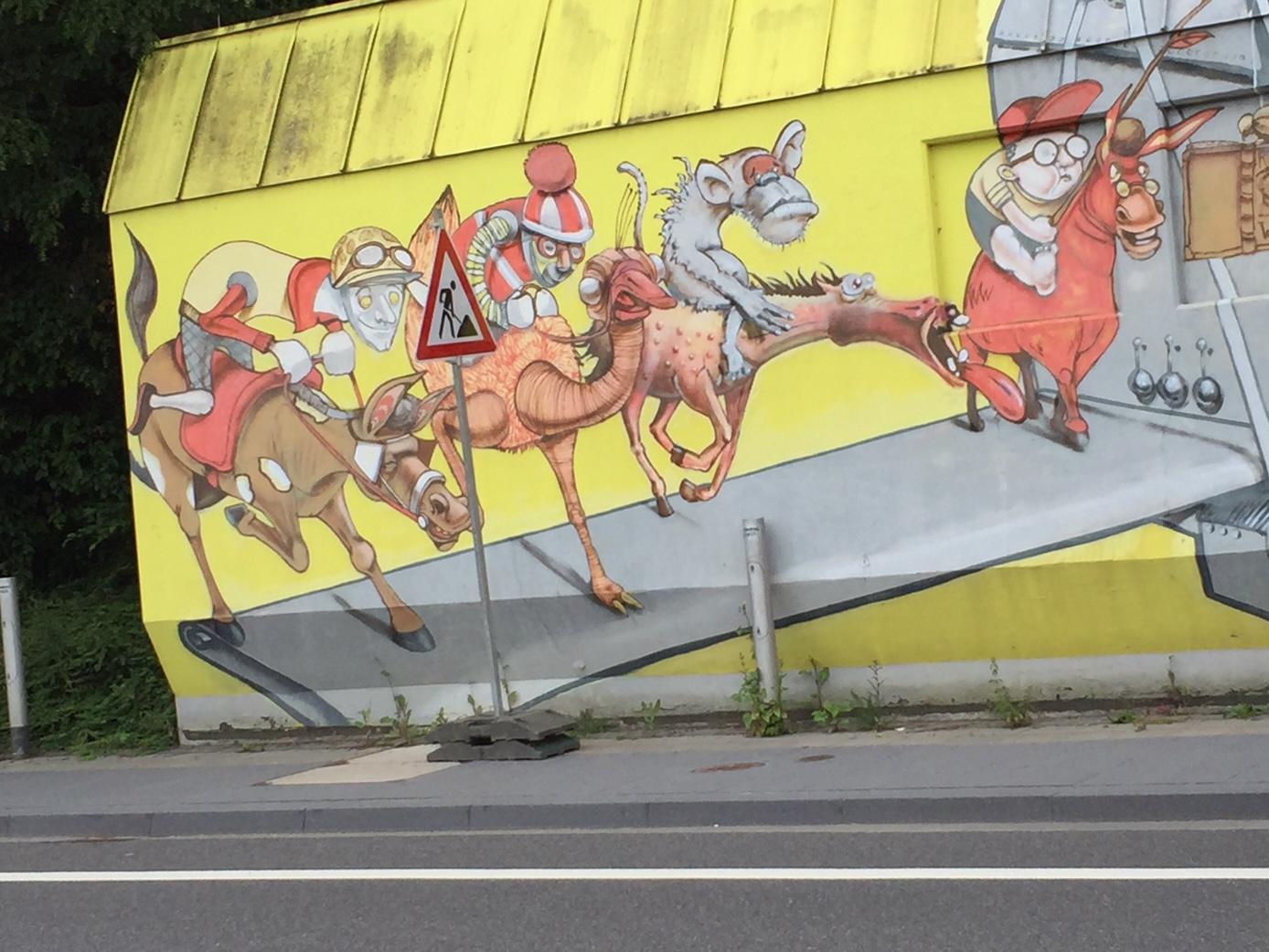 In der Forckenbeckstraße in Aachen gesehen