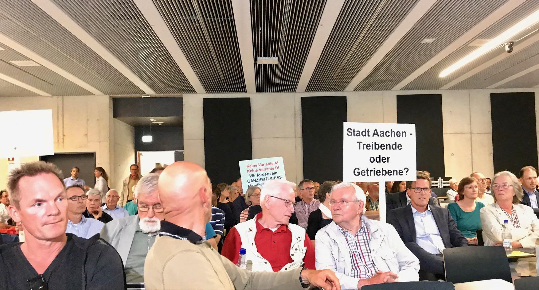 250 wollen lieber keine neue Brücke in Laurensberg.