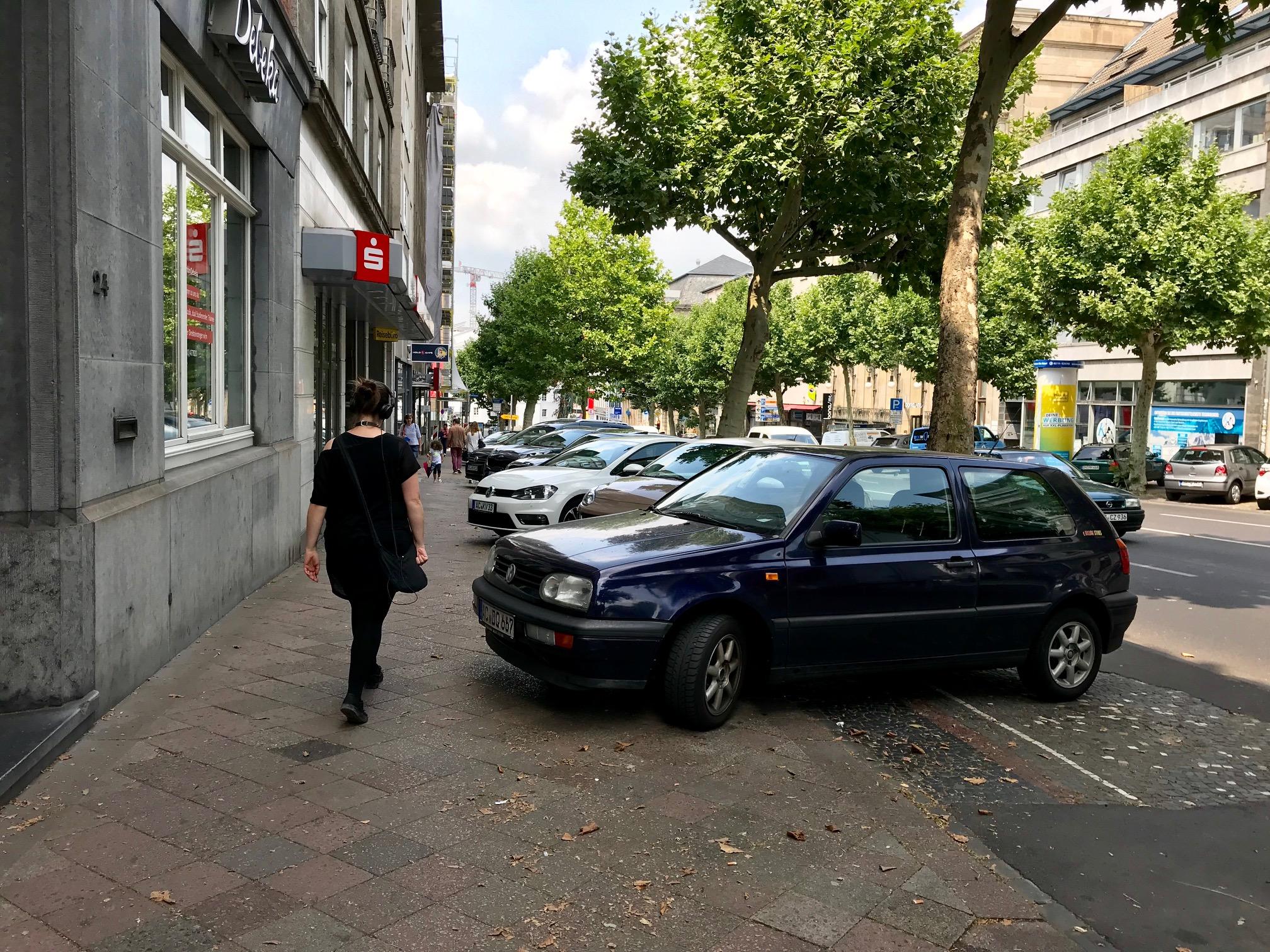 Theaterstraße soll mal ein Boulevard gewesen sein